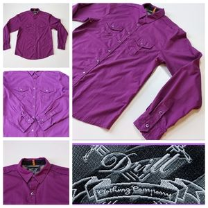 Drill Clothing Company Button Up Dress Shi…